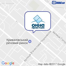 Престиж - Окна на карте