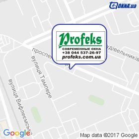 ПРОФЕКС на карте