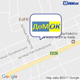 Домок на мапі