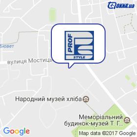 ПРОФСТАЙЛ на карте