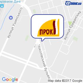 ПРОК, ПВКП на мапі