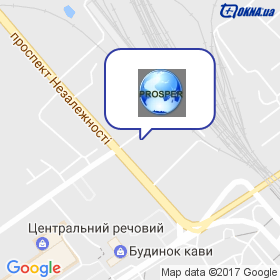 ПРОСПЕР на мапі