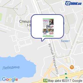 Проценко на карте