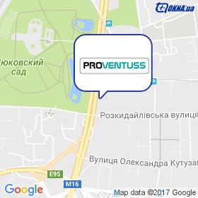 Провентусс УКРАЇНА на мапі