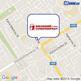 1 Віконний Супермаркет(R) KRUG на карте