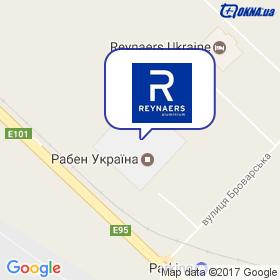 Reynaers Aluminium на мапі