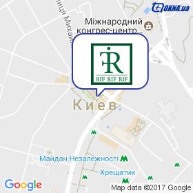 РИФ на карте