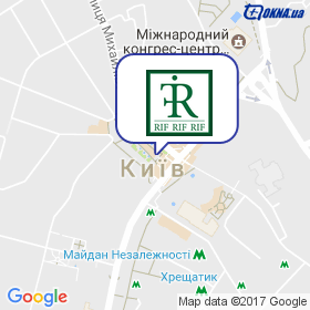 РИФ на мапі