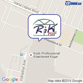RiKplast на карте