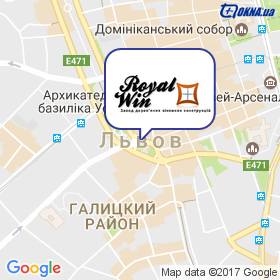 RoyalWin на карте