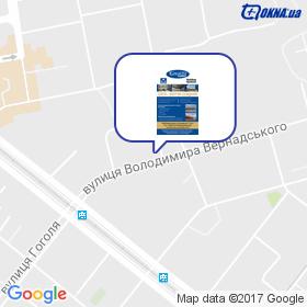 Сакті Плюс на мапі