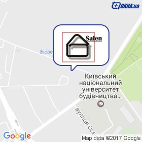 Salen на мапі