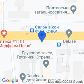 ФОРТОЧКА на карте