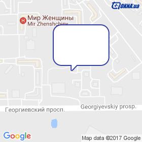 Санскрін на мапі