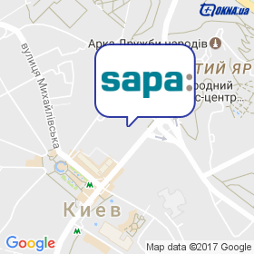 Сапа Профайлс на карте