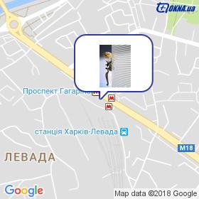 Савченко на карте