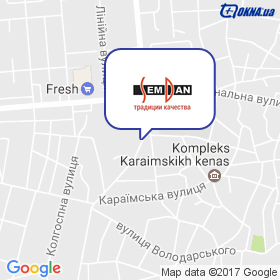 Сем-Дан ВКФ на мапі