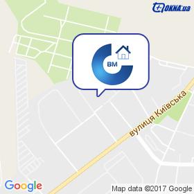 Сервіс-ВМ на мапі