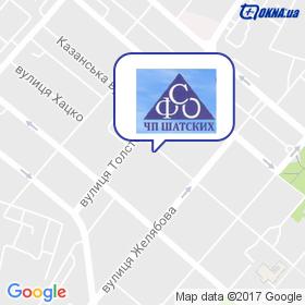 Симферопольская Фабрика Окон на карте