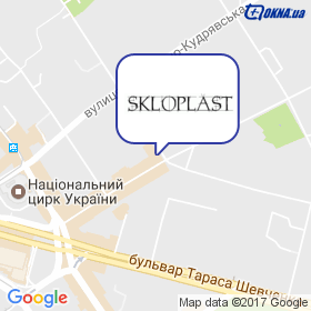 Склопласт на мапі