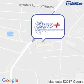 Склоплюс на мапі