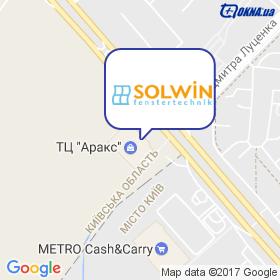 Солвін на мапі