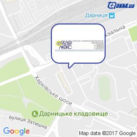 Скло Сервіс Люкс на мапі