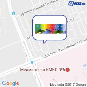 ССМ ФАРБ ( СхідСпецМет, ООО) на карте