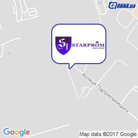 СТАРПРОМ ІНОВЕЙШЕН на мапі