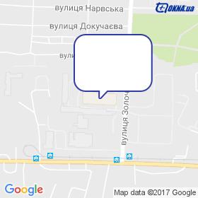 Стеклолюкс на мапі