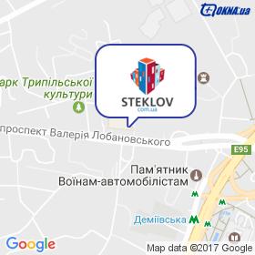 STEKLOV на карте