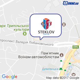 STEKLOV на мапі