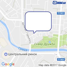 Стройпласт на мапі