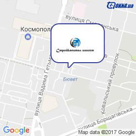 Стройкапітал інвест на мапі