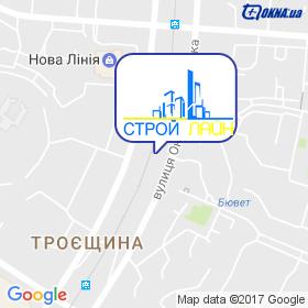 Строй Лайн ТСК на мапі