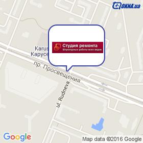 Студия Ремонта на карте