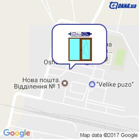Сорочан О.М. на мапі