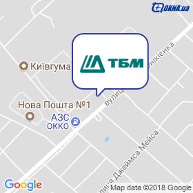 ТБМ-Украина на карте