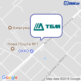 ТБМ-Україна на мапі