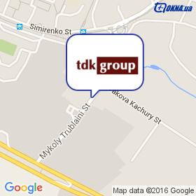 ТДК Груп на карте