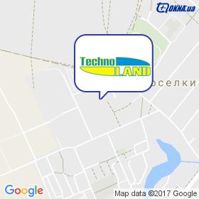 Техноленд на карте
