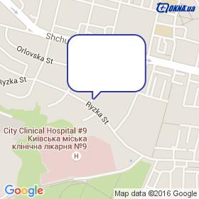 Текноком-Украина на карте