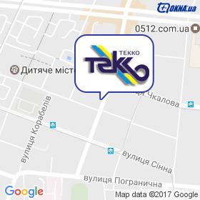 ТЕККО-Миколаїв на мапі