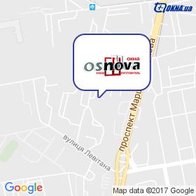Osnova-Odessa на мапі