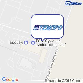 ТЕМПРО на карте