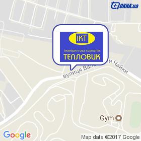 ІК ТЕПЛОВИК на мапі