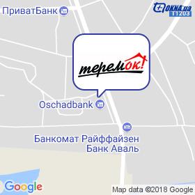 Теремок на мапі