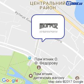 ТІГРІС на мапі