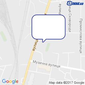 ТОМ-СЕРВІС на мапі