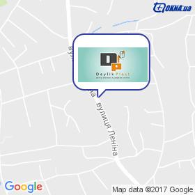 Супермаркет ВІКОН на мапі
